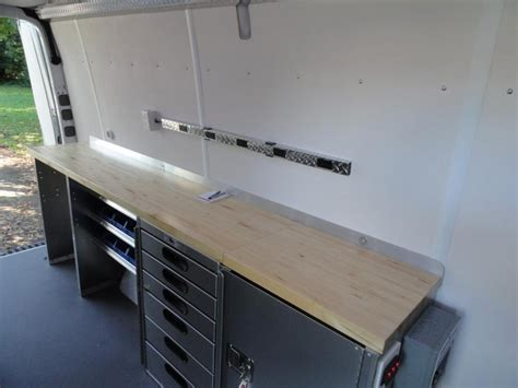 van work bench specialty application advantage outfitters sprinter