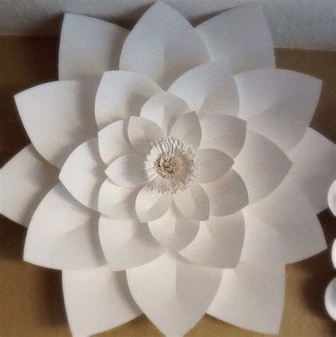 How To Make A Lotus Flower Out Of Paper - 1000 ideas about paper lotus on diy paper