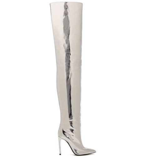 bomb product of the day balenciaga s silver metallic