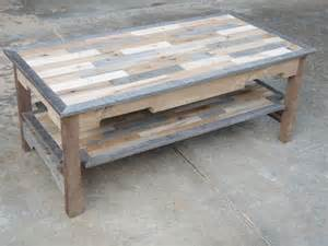pallet wood coffee table series knotthead nate custom - Pallet Coffee Table Plans