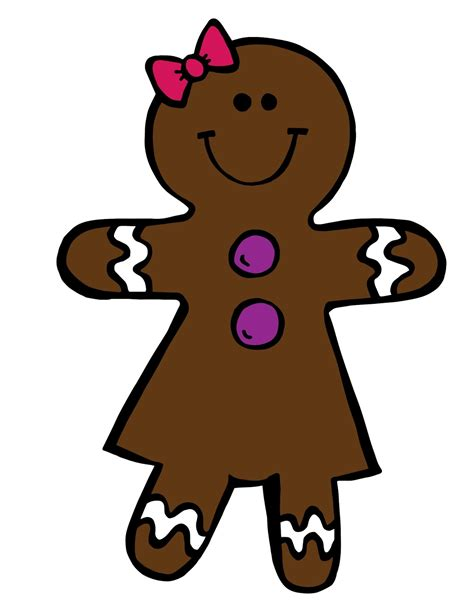 gingerbread boy and clipart clipartxtras