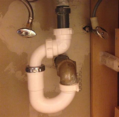 Kitchen Sink Pipe Installation by Installing Bathroom Sink Drain Pipe With Regard To