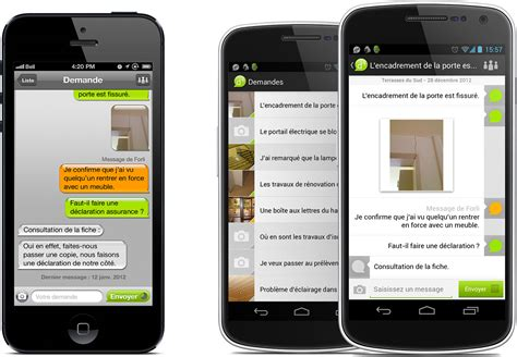 Application De Des Applications Mobiles Pour La Gestion Des Demandes D4