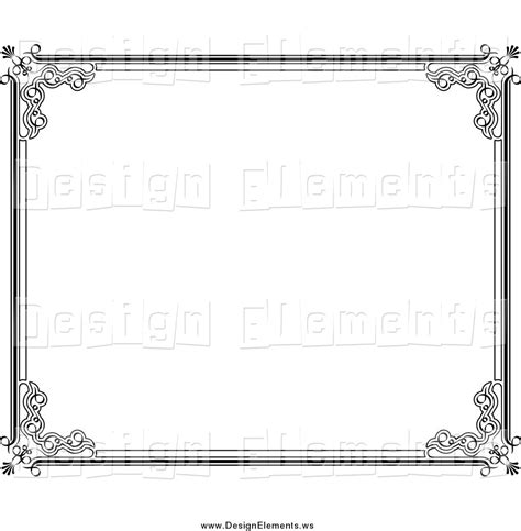 frame design black and white borders designs black and white cliparts co