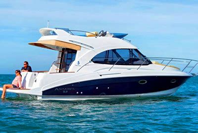 small boat on yacht lux 34 motor yacht onboat inc