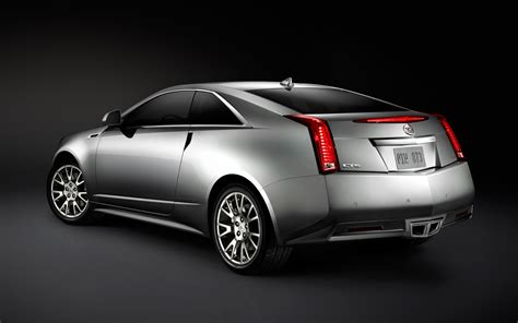 2012 Cadillac Coupe 2012 cadillac cts coupe rear three quarter 2 photo 5
