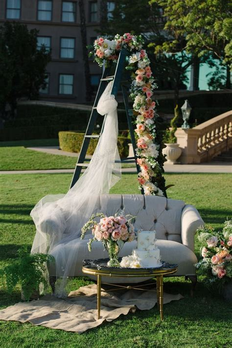 Useless Ladder Wedding Decoration Ideas ? WeddCeremony.Com