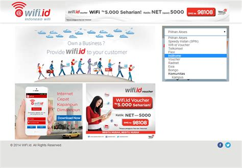 Wifi Speedy Untuk Cafe wifi id gratis dengan speedy masih work speedy berubah