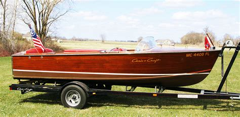 chris craft boat trailers chris craft 17 sportsman utility for sale