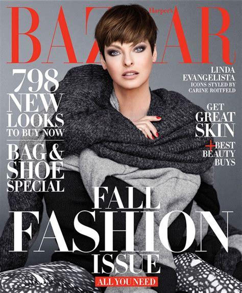 Cover Wars Harpers Baazar Vs Vogue Nippon by Evangelista S Bazaar Us September 2014