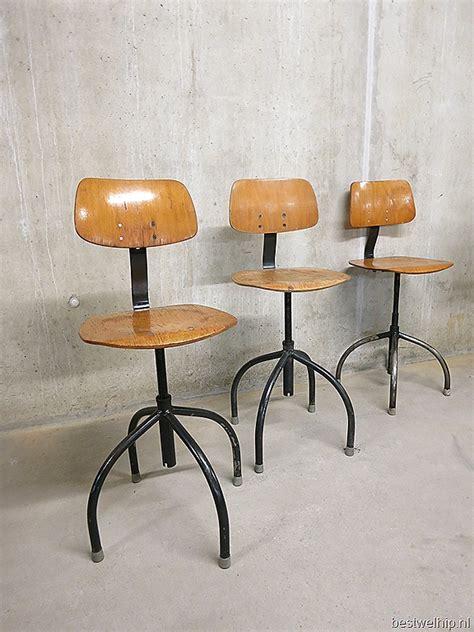 jaren 30 design len stoere industri 235 le atelierstoelen krukken barkruk atomic