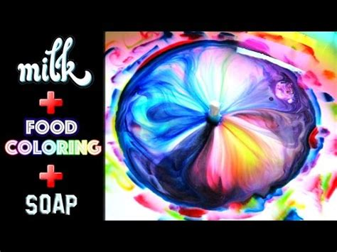 food coloring and milk world s milk food coloring and dish soap