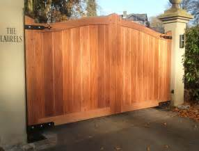 Driveway Gate Designs Wood Wood Driveway Gates Designs Decor Extraordinary Wooden