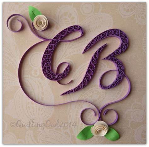 typography quilling tutorial 2562 best images about quilled lettering words numerals