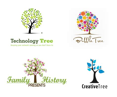 home design inspiration 2015 15 creative tree logo design inspiration 2015 16