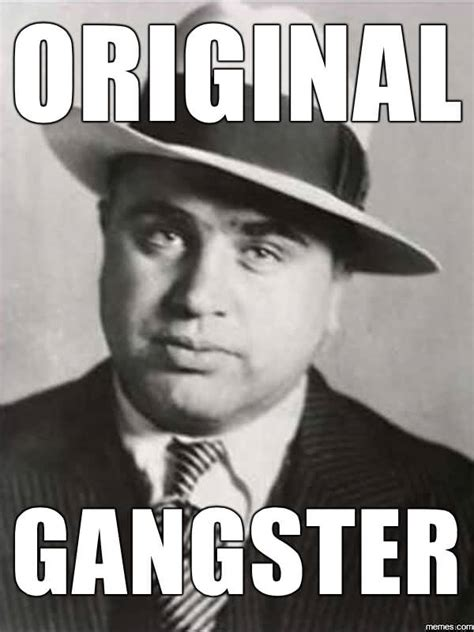 Funny Gangster Meme - 35 awesome gangster memes stock golfian com
