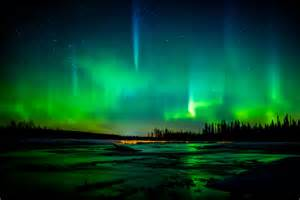Bow Windows Calgary the northern lights over southern alberta christopher