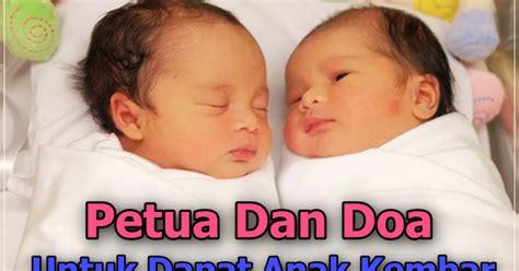 antara petua  doa  mengandung anak kembar  islam
