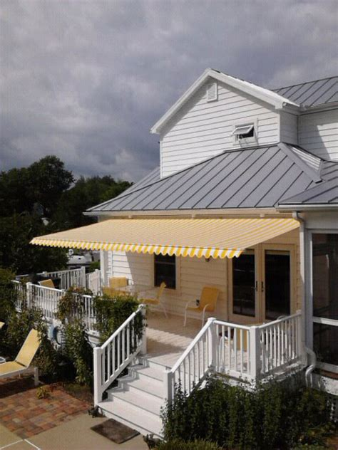 retractable fabric awning patio awnings archives pyc awnings pyc awnings