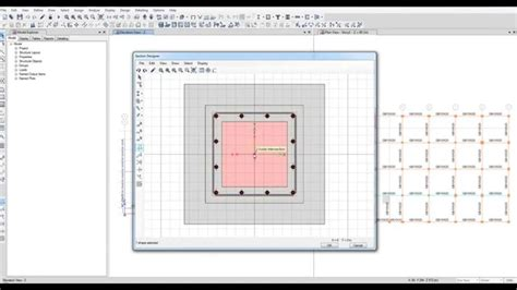 define section define retrofitting section for column in etabs 2015 youtube