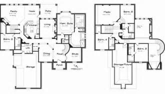 5 bedroom luxury house plans 5 bedroom house plans luxury style 5933 square foot home 2
