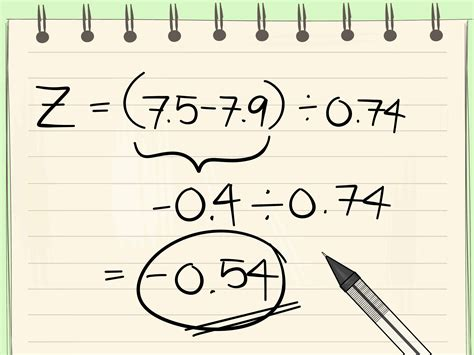 calculator pangkat how to calculate z scores 15 steps with pictures wikihow