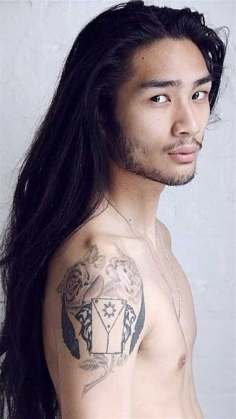 hairstyles for middle aged asian hair styles for asian men with long hair portraits