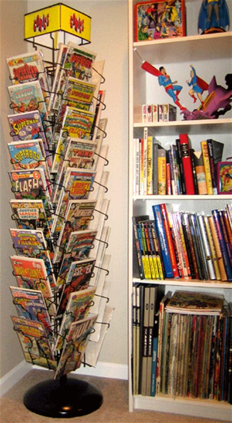 Comic Book Rack by Hey Comics Tales Of The Spinner Rack