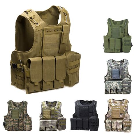 Army Tactical Pouch 01 tactical vest army airsoft molle vest combat