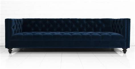 navy blue velvet couch www roomservicestore com 007 sofa in navy velvet