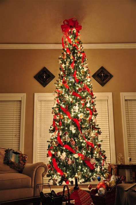 awesome slim christmas tree decorations ideas magment