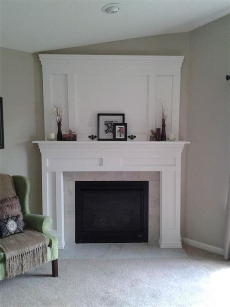 Diy Fireplace Makeover by Diy Fireplace Makeover For The Home