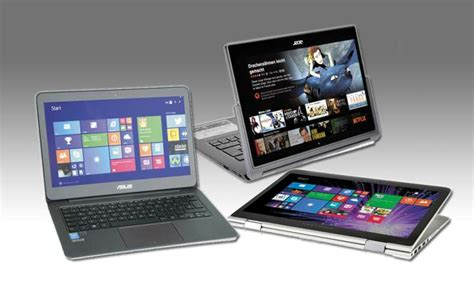 Hp Lenovo Vs Acer notebooks vs convertibles asus vs lenovo vs hp vs acer pc magazin