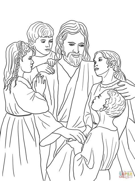 coloring pages jesus child jesus all the children of the world coloring page