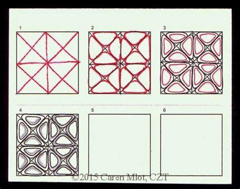zentangle pattern nzeppel zentangle pattern quot nzeppel quot squares tangle patterns