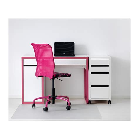 micke desk white pink from ikea price 89 000 dram