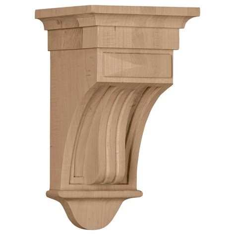Wood Corbels Fluted Corbels Wood Corbels