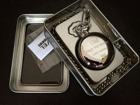 best man gifts personalised engraved pocket watch gift boxed wedding gift
