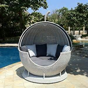Daybed Garden Rattan Daybed Garden Daybed With Moveable Canopy In Soft