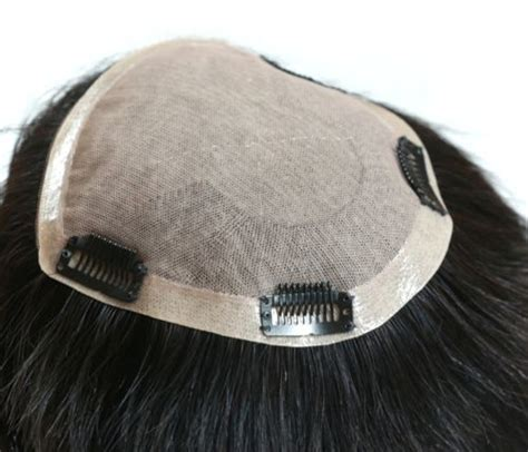 hair toppers that look realistic 100 hand tied realistic silk top 100 human hair toppers