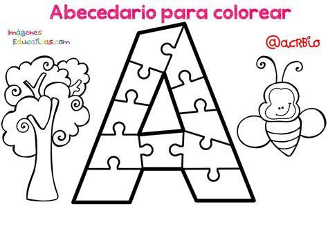 imagenes educativas para imprimir y colorear dibujos para colorear alfabeto nios abecedario para