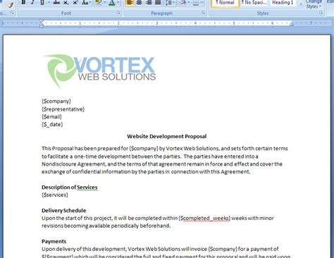 Proposal Email Sle Gecce Tackletarts Co Email Template Doc