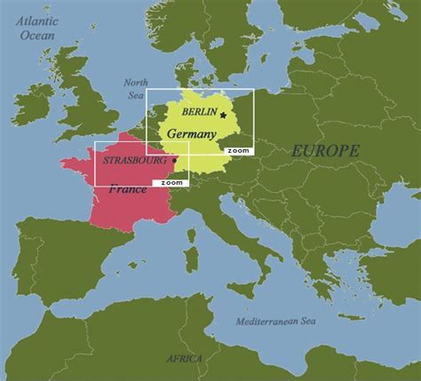 europe germany map teaching geography