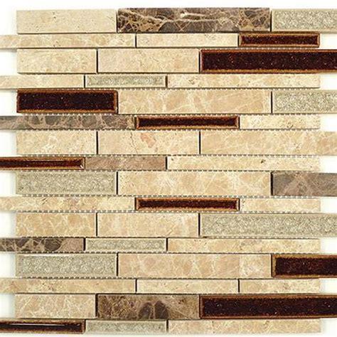 GLZ Tranquil   Random Brick Series Arizona Scape Glass