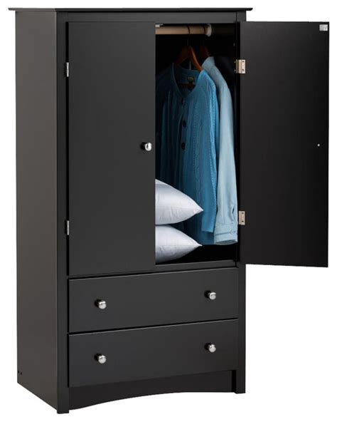 contemporary armoires 2 door armoire contemporary armoires and wardrobes