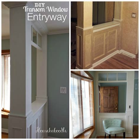 Paint Colors For A Dining Room Our Diy Transom Window Entryway