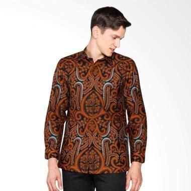 Kemeja Batik Pria Slim Fit Cbs 70 jual batik lengan panjang pria terbaru harga murah