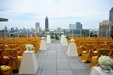 top wedding venues in atlanta ga top 5 rooftop wedding venues in ventanas 004 the
