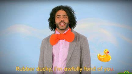rubber st shows daveed diggs shows for rubber ducky on sesame