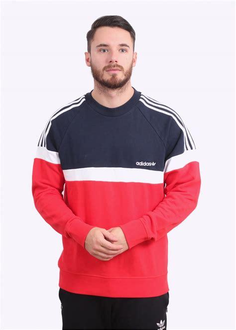 adidas originals apparel itasca crew sweater sweatshirts from triads uk